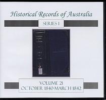 Historical Records of Australia Series 1 Volume 21