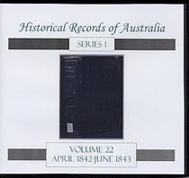 Historical Records of Australia Series 1 Volume 22