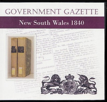 New South Wales Government Gazette 1840