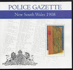 New South Wales Police Gazette 1908