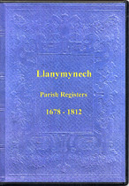 Montgomeryshire Parish Registers: Llanymynech 1678-1812