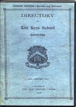 Directory of the Leys School, Cambridge