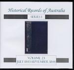 Historical Records of Australia series 1 Volume 23