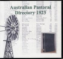 Australian Pastoral Directory 1923