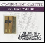 New South Wales Government Gazette 1841