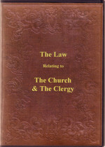 A Practical Treatise on The Law Relating to The Church and The Clergy