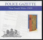 New South Wales Police Gazette 1909