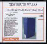 New South Wales Commonwealth Electoral Roll 1946 North Sydney