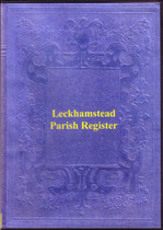 Buckinghamshire Parish Registers: Leckhamstead 1558-1812