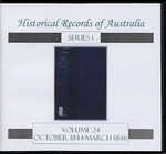 Historical Records of Australia Series 1 Volume 24