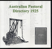 Australian Pastoral Directory 1925