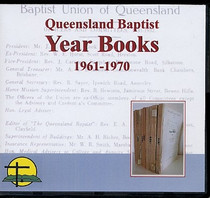Queensland Baptist Year Books 1961-1970