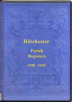 Lancashire Parish Registers: Ribchester 1598-1695
