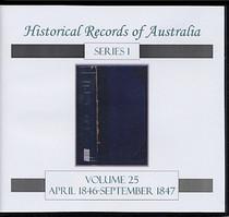 Historical Records of Australia Series 1 Volume 25