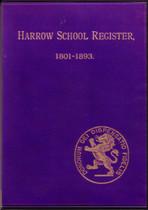 Harrow School Register, Middlesex 1801-1893