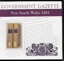 New South Wales Government Gazette 1844
