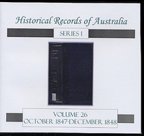 Historical Records of Australia Series 1 Volume 26