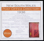 New South Wales Post Office Directory 1936 (Wise)