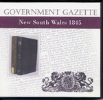 New South Wales Government Gazette 1845