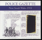 New South Wales Police Gazette 1911