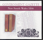 New South Wales Government Gazette 1846