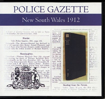 New South Wales Police Gazette 1912