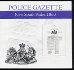 New South Wales Police Gazette 1863