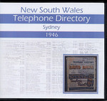 New South Wales Telephone Directory 1946: Sydney