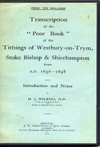 Gloucestershire Poor Law Records: Westbury-on-Trym, Stoke Bishop and Shirehampton 1656-1698