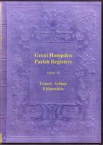 Buckinghamshire Parish Registers: Great Hampden 1557-1812
