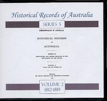 Historical Records of Australia Series 3 Volume 2
