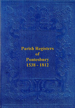 Shropshire Parish Registers: Pontesbury 1538-1812