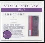 Sydney Directory 1847 (Low)