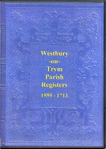 Gloucestershire Parish Registers: Westbury-on-Trym 1559-1713