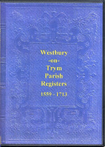 Gloucestershire Parish Registers: Westbury-on-Trym 1559-1713