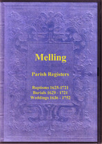Lancashire Parish Registers: Melling 1625-1752