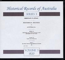 Historical Records of Australia Series 3 Volume 3