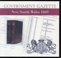 New South Wales Government Gazette 1849