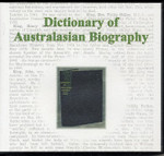 Dictionary of Australasian Biography