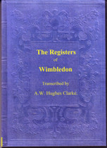 Surrey Parish Registers: Wimbledon 1538-1812