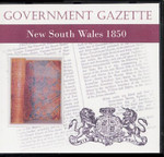 New South Wales Government Gazette 1850