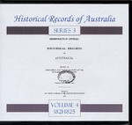 Historical Records of Australia Series 3 Volume 4
