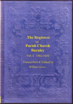 Lancashire Parish Registers: Burnley 1562-1653