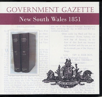 New South Wales Government Gazette 1851
