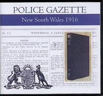 New South Wales Police Gazette 1916