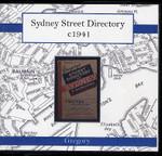 Sydney Street Directory c1941 (Gregory)