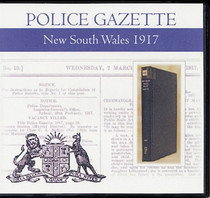New South Wales Police Gazette 1917