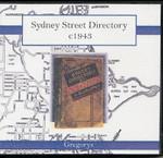 Sydney Street Directory c1943 (Gregory)