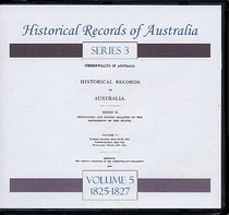 Historical Records of Australia Series 3 Volume 5