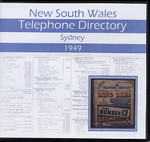 New South Wales Telephone Directory 1949: Sydney
